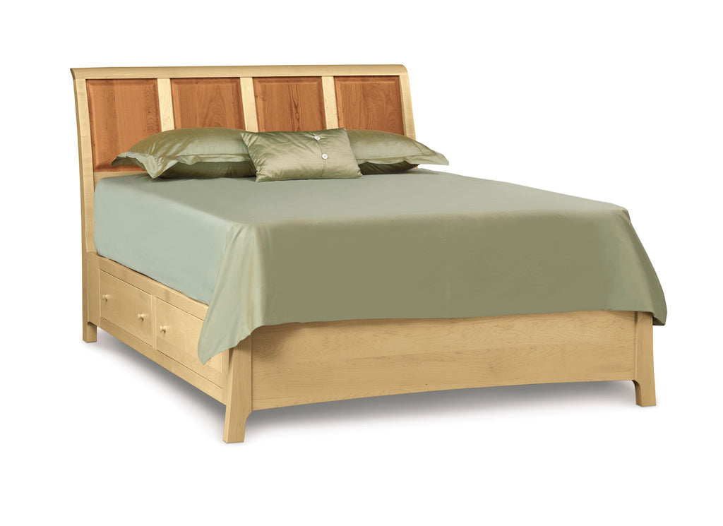 "Sarah Bed 48"" High with Storage"