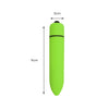 Bullet Vibrator Discreet Vibrating Massager Beginner Vibe Adult Sex Toys Green