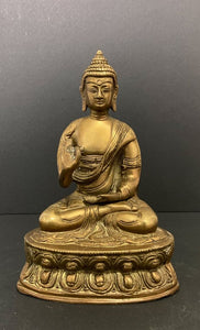 Bronze Buddha Sculpture