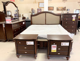 5 Piece Wooden Queen Bedroom Set