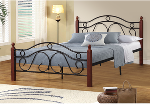 Single Size Metal Frame Bed