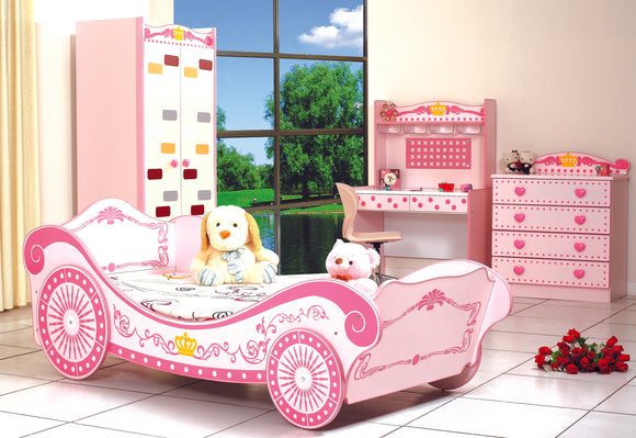 Princess Pink Car Bed