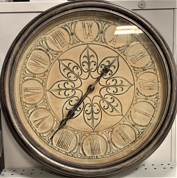 Ancient Beige & Brown Clock