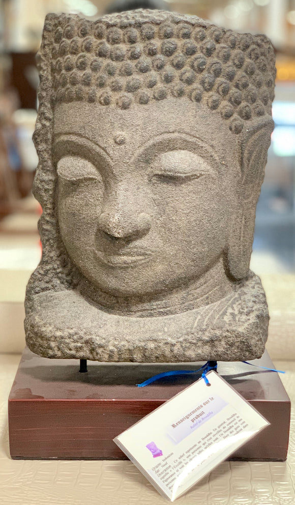Buddha's Head Sculpture