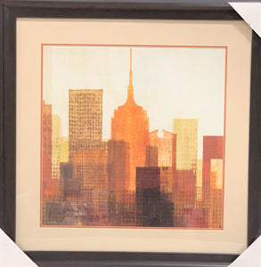 Empire State Building Skyline Art Painting