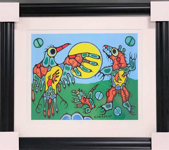 Norval Morrisseau Thunderbird Sun Dance with Horizon