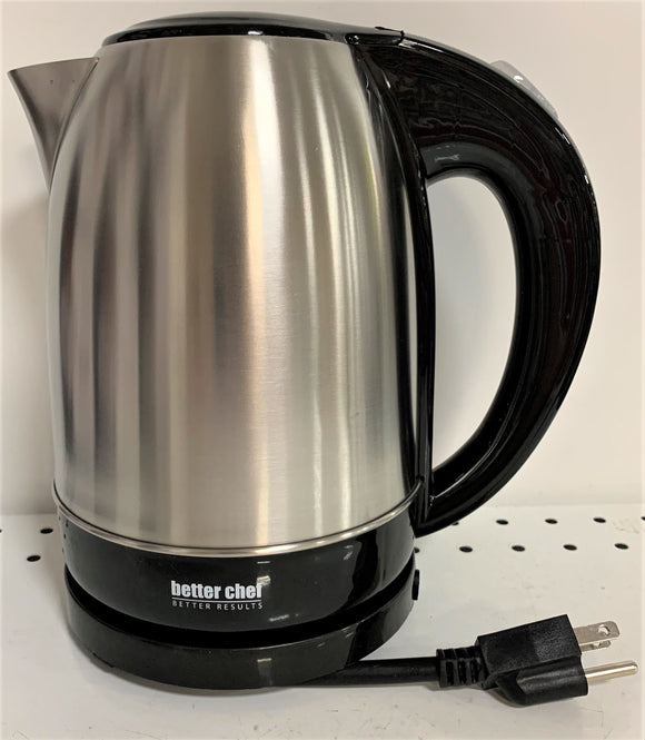 Better Chef Stainless Steel Electric Cordless Kettle