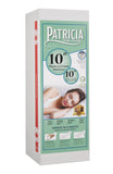 "Patricia 10"" Plush Gel Infused Memory Foam Mattress"