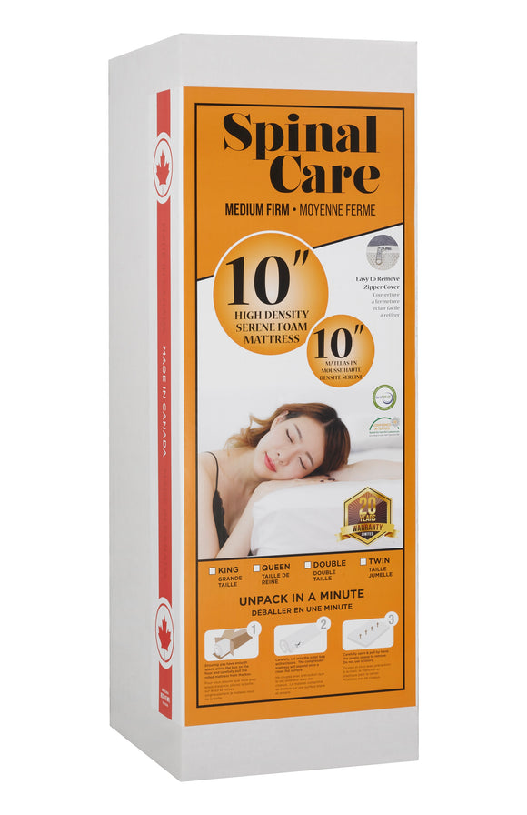 Spinal Care High Density Serene Foam Mattress (FIRM)