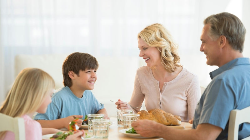 Bring back family meal times