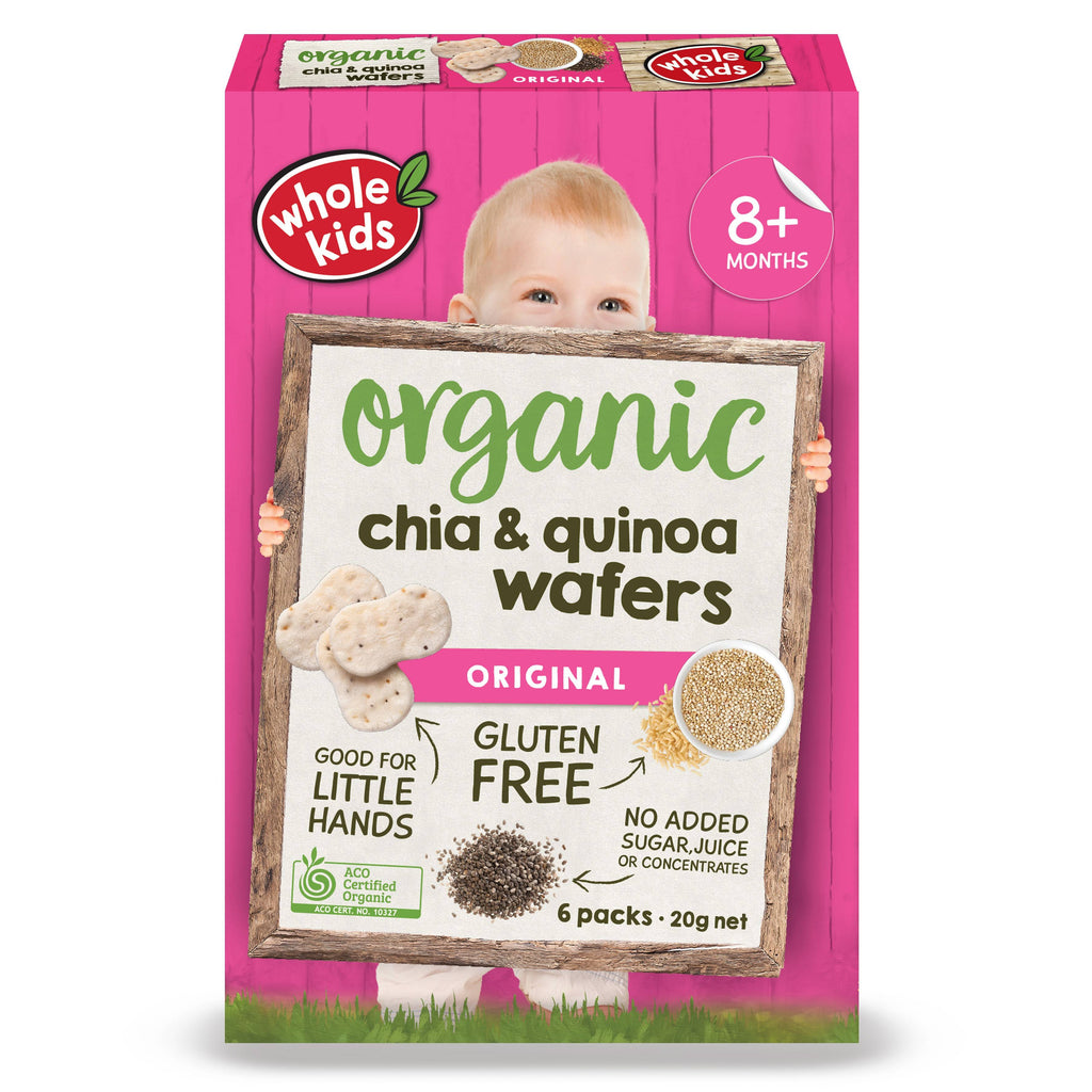 Organic Chia & Quinoa Teething Wafers
