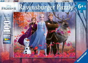 Ravensburger Puzzle - Frozen 2 Magic of the Forest 100. Pc 6+