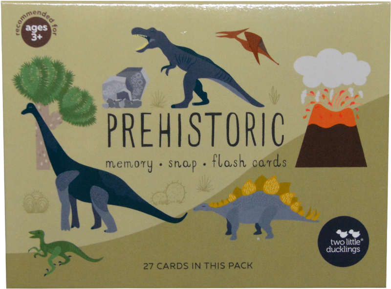 Two Little Ducklings - Prehistoric Snap & Memory Game