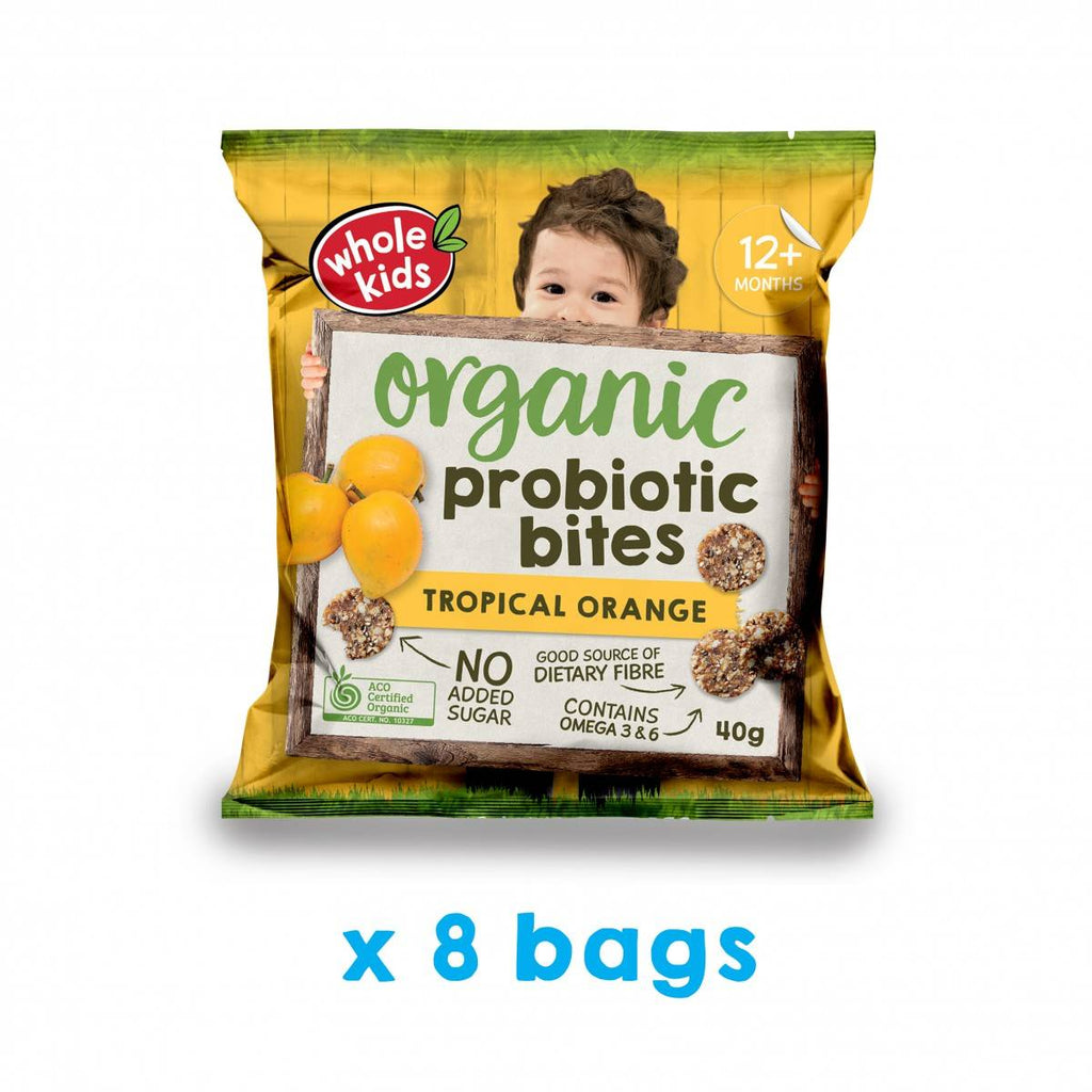 Immunity Snack Bundle - Chia & Quinoa Wafers | Oatmeal Soft Cereal Biscuits | Tropical Probiotic Bites