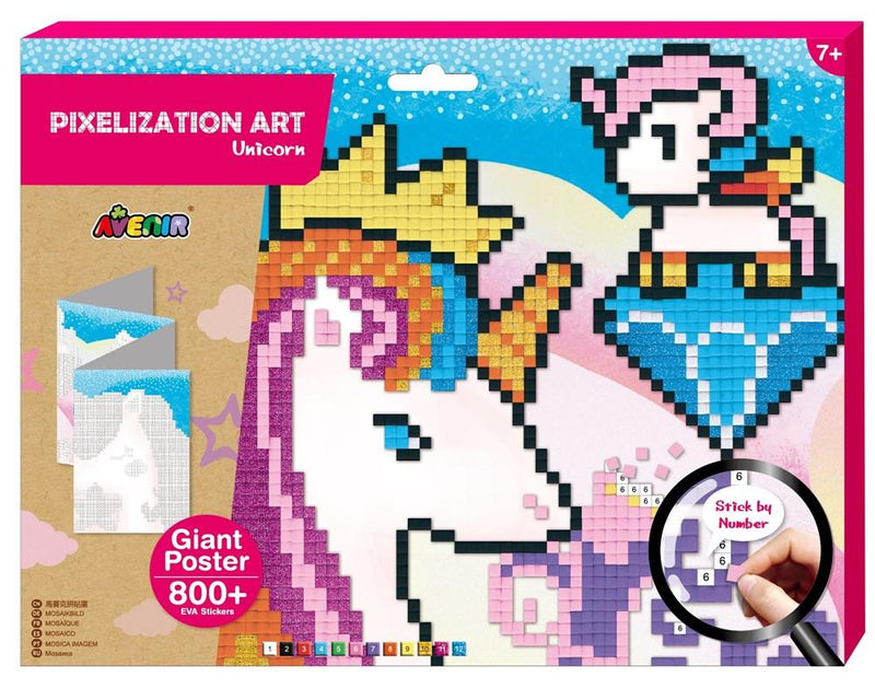 Avenir - Pixelization - Unicorn