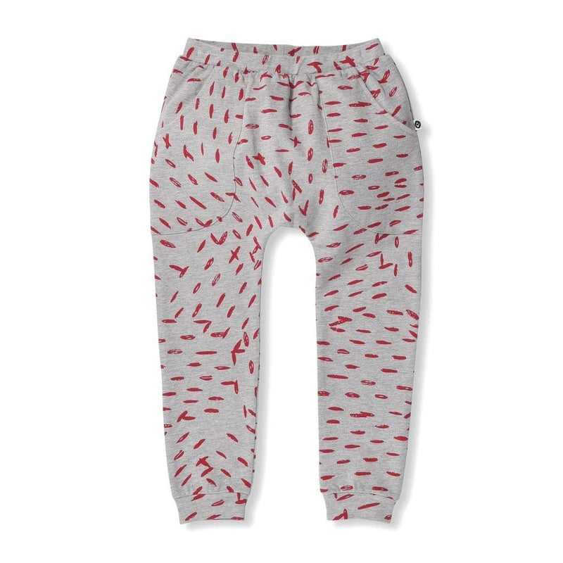 Littlehorn Speckles Sweatpant - Marle  in grey