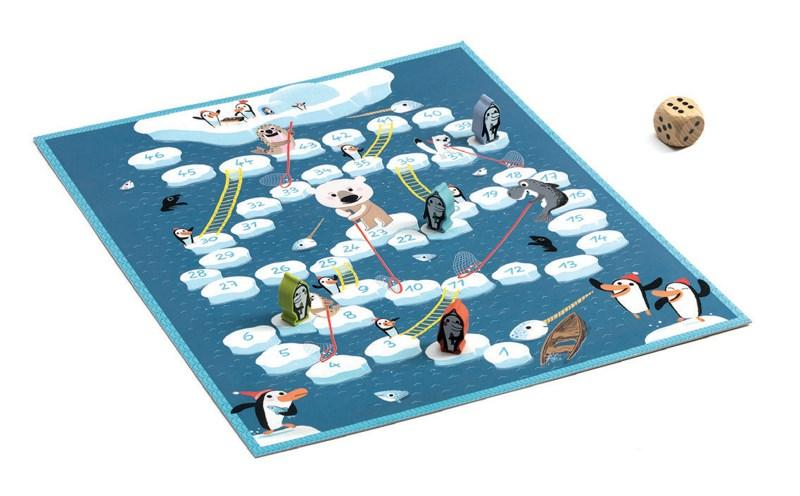 Djeco - Snakes & Ladders - Penguins