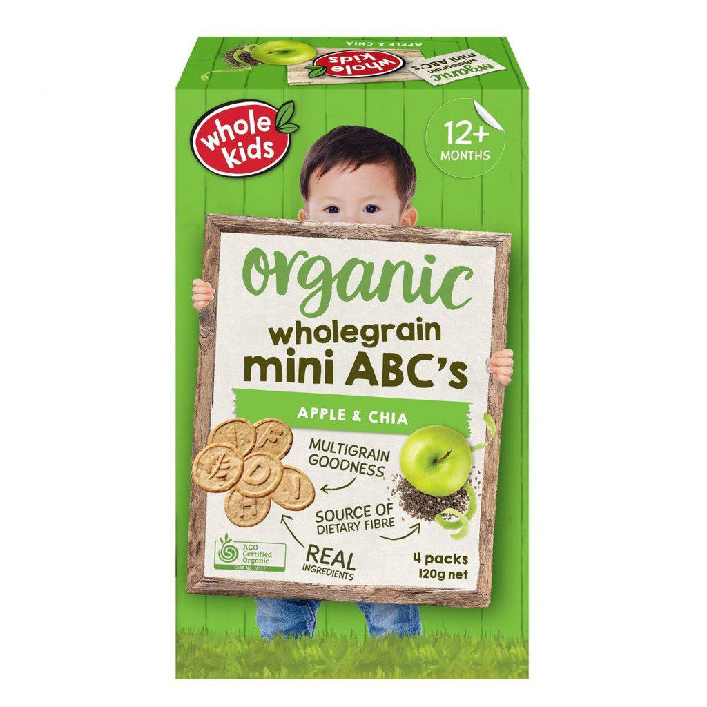 Organic Wholegrain Mini ABC's