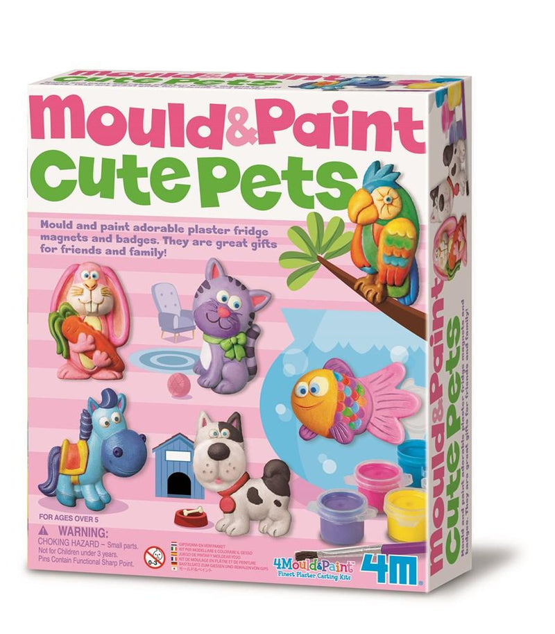 4M - Mould & Paint - Cute Pets