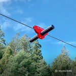 Woomera Flying Fox Kit with Monkey Swing