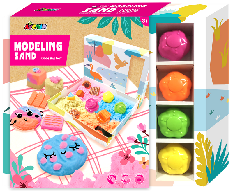 Avenir - Modelling Sand - Cooking Set