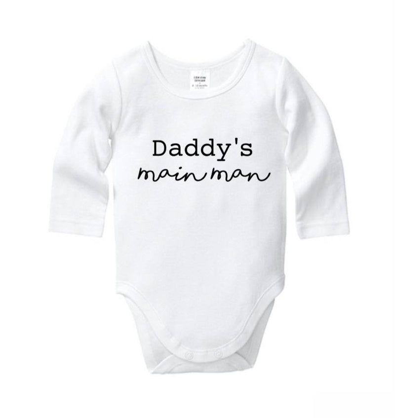 Daddy's Mainman Onesie