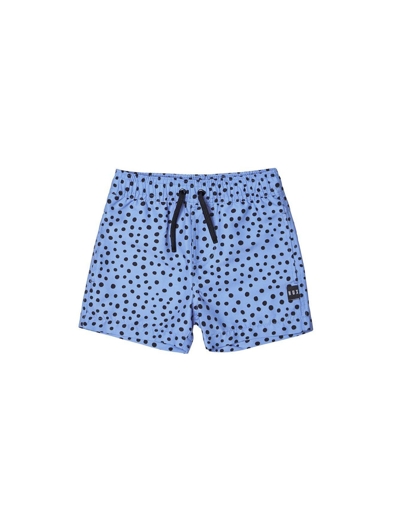 Huxbaby Bright Blue Swim Shorts in blue