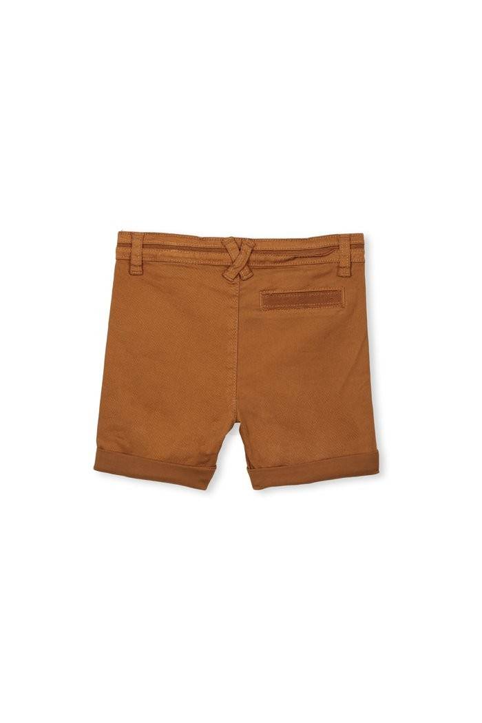 Milky clothing Boys  shorts In toffee