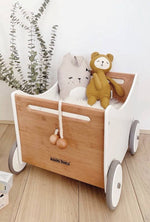 Kinderfeets - Toy Box Walker - White