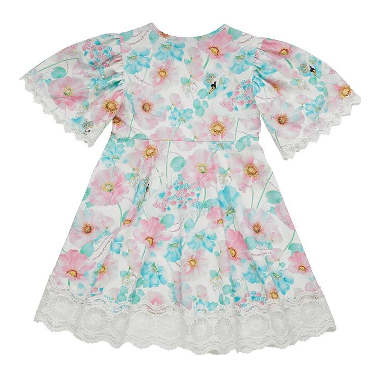 Rock Your Baby Swan Queen Dress in multi colour