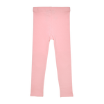 Rock Your Baby knee patch tights in pink brushed cotton