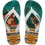 Havaianas Kids rubber thongs Lion King in multi colour print