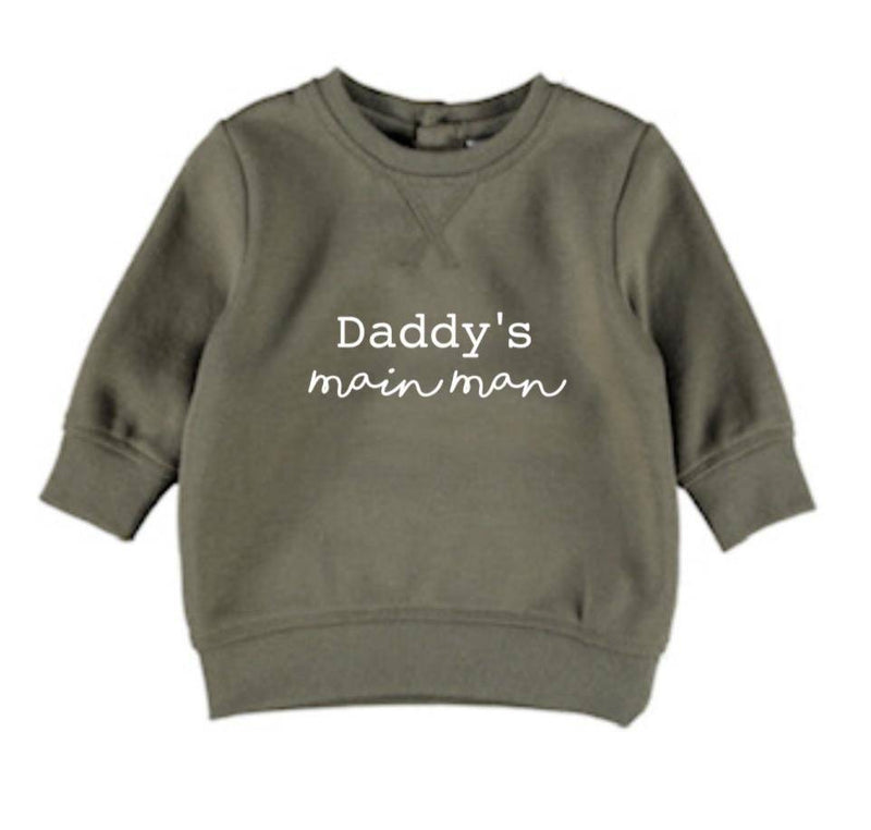 Daddy's Mainman Jumper - Military