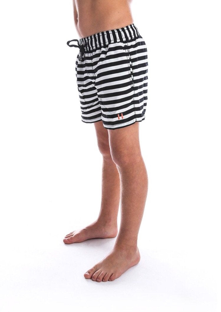 Beau Hudson Striped Boardshorts