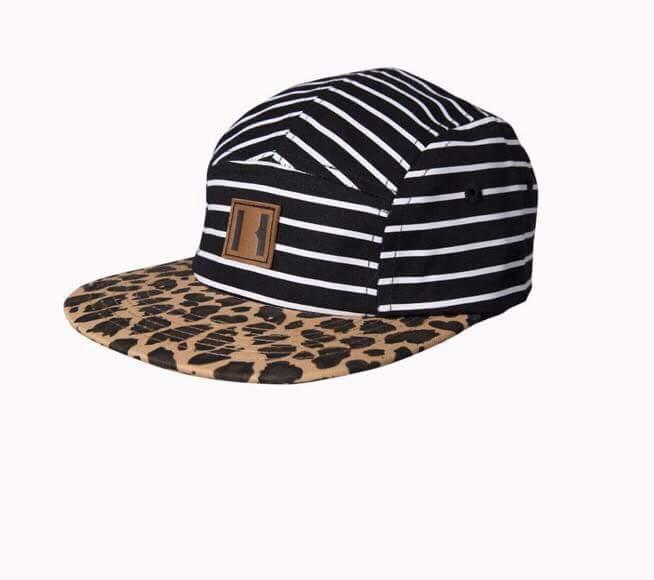 Beau Hudson Stripes on Leopard Hat
