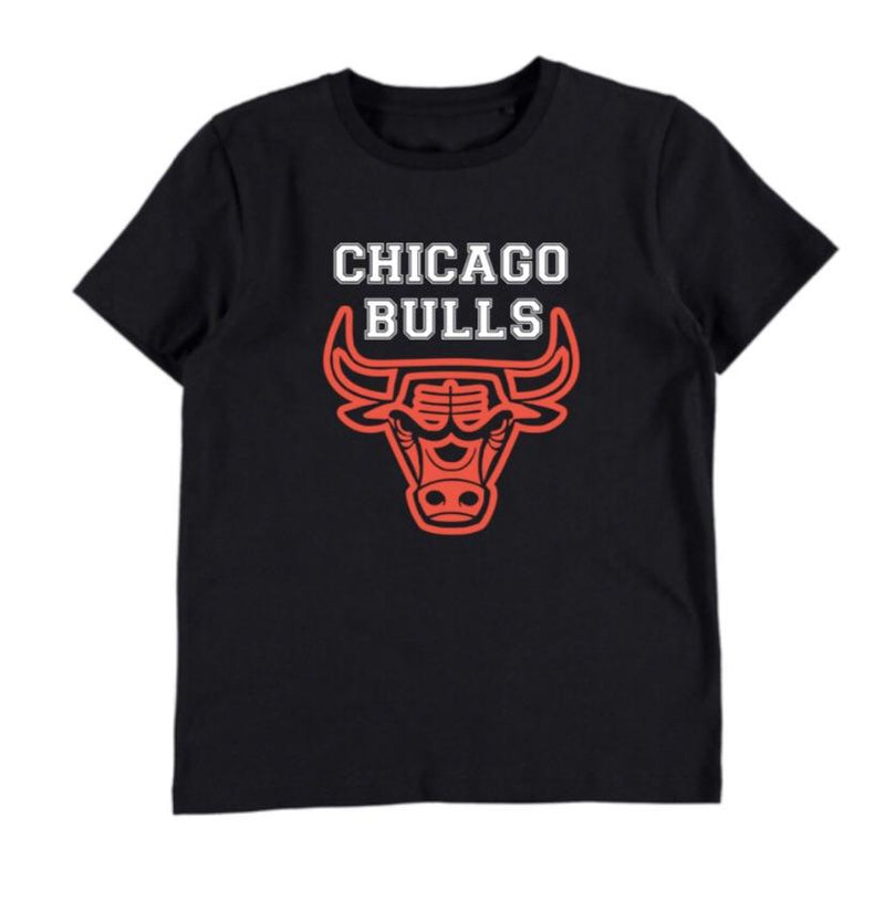 Chicago Bulls - Black T-shirt