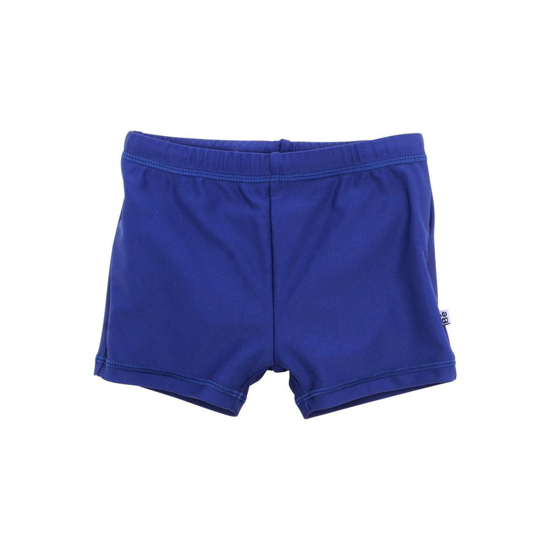Bebe Swim shorts  with Aqua Nappy in blue