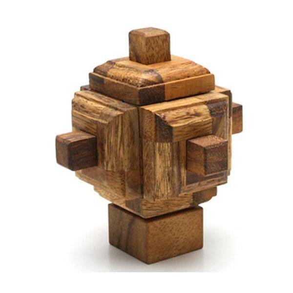 The Satellite Wooden Puzzle