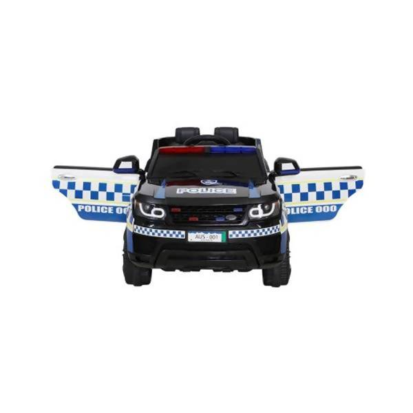 Kids Ride On Car Inspired Patrol Police Electric Powered Toy