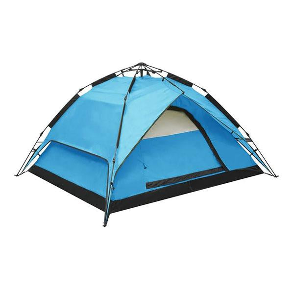 Pop Up Camping Tent 2 To 3 Person 240X210X140 Cm Blue