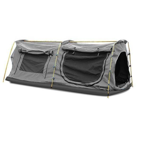 Double King Swag Camping Tent Grey