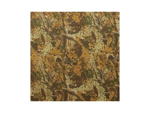Woodland Camo Embossed Cowhide Leather