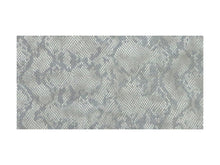 Load image into Gallery viewer, Natural Embossed Snake Print Leather Pre-Cut Piece