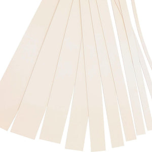 "Vegetable Leather Tan Strips, 48""- 55"" in Length, Economy Grade Leather"