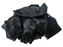 Load image into Gallery viewer, Upholstery Leather Remnants, Premium Black