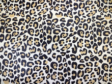 Load image into Gallery viewer, Almond Leopard Embossed & Printed Cowhide Leather