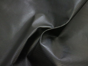 Weaved Black Leather Pre-Cut Piece