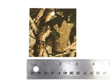 "Load image into Gallery viewer, Set of 10 Camo Printed Leather Pieces 3""x3"", Camouflage"