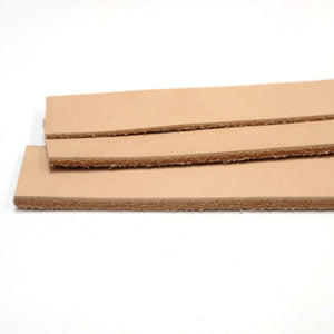 "Vegetable Tanned Leather Strip, 48""- 55"" in Length, Premium Grade Leather"