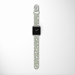 Load image into Gallery viewer, Sage Leopard Apple Watch Strap by Coconut Lane